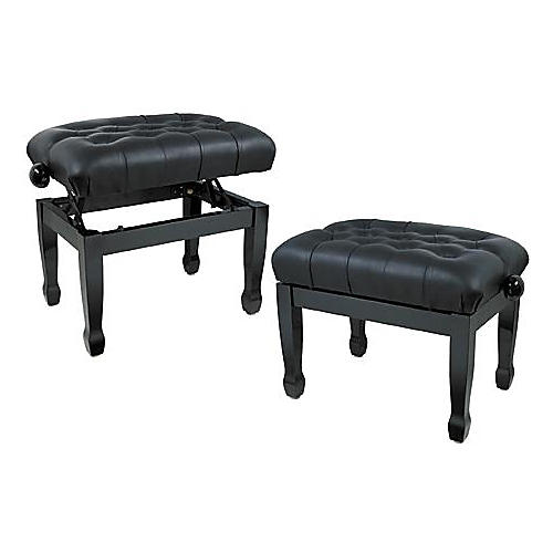 Musician's Gear Leather Concert Piano Bench thumbnail