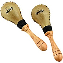 Nino Leather Maracas/Pair