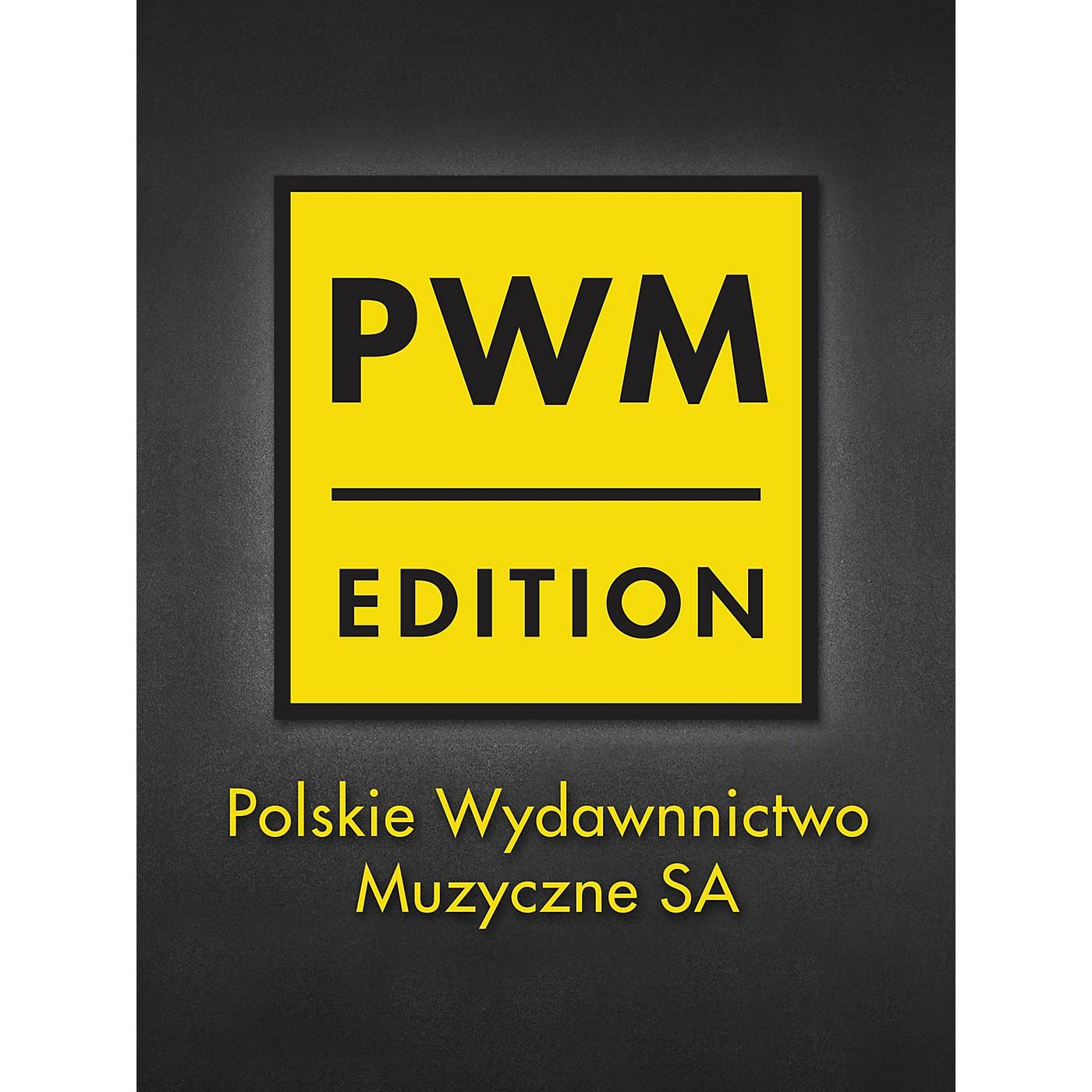 PWM L'ecole Moderne Etudes-caprices Op.10 Pour Violon Seul, S.a. Vol.6 PWM Series Composed by H Wieniawski thumbnail