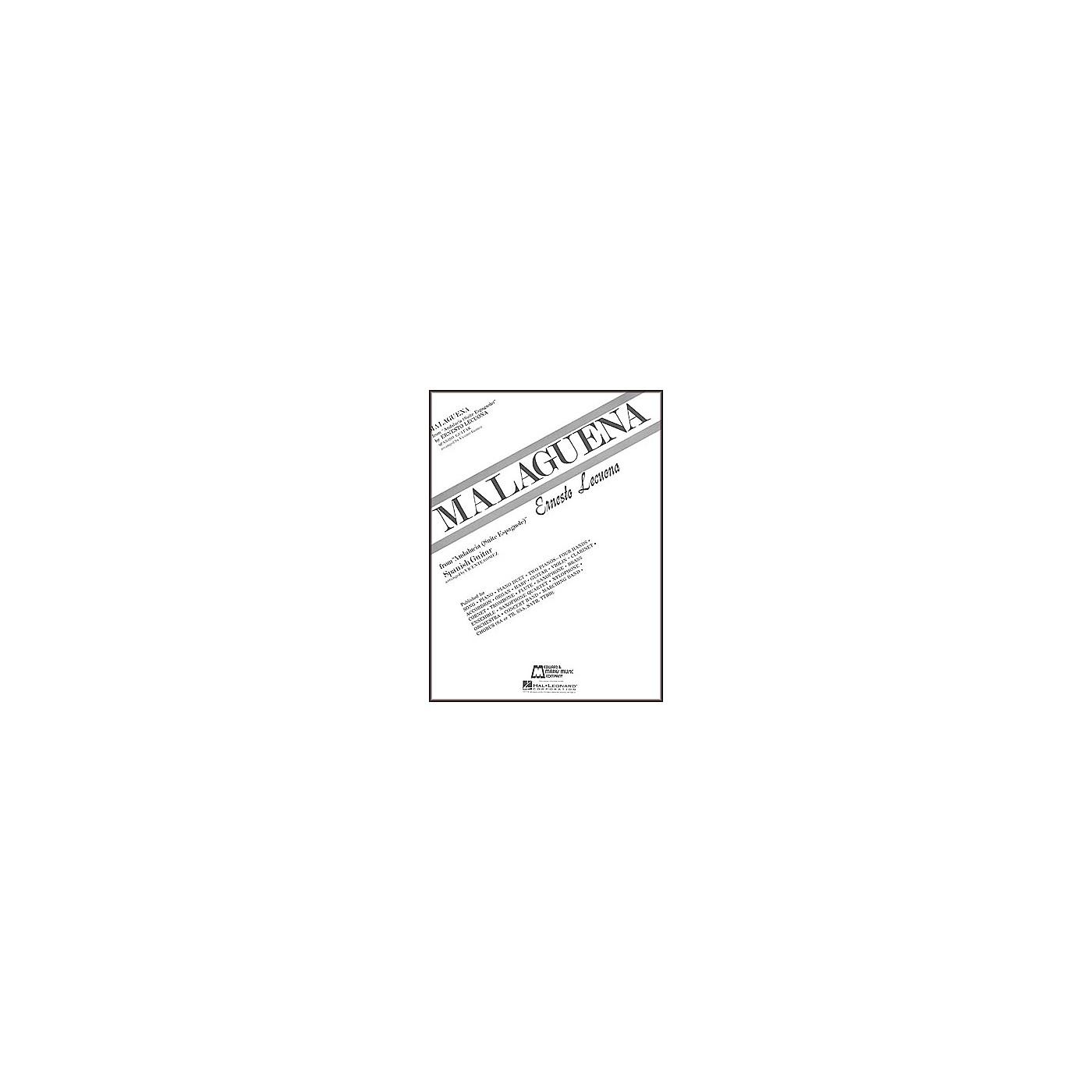 Edward B. Marks Music Company Lecuona: Malaguena Sheet Music For Classical Guitar Book thumbnail