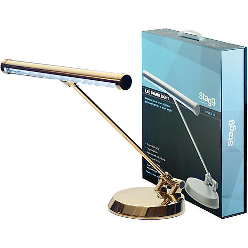 Stagg Led Lamp for Piano/Desk Gold thumbnail