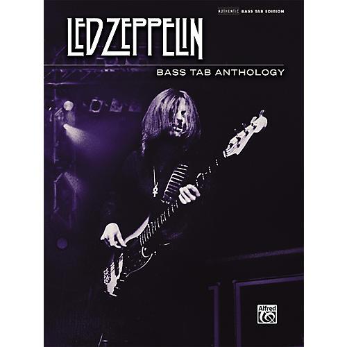 Alfred Led Zeppelin - Bass Tab Anthology Book thumbnail