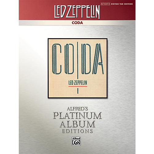 Alfred Led Zeppelin - Coda Platinum Guitar Book thumbnail