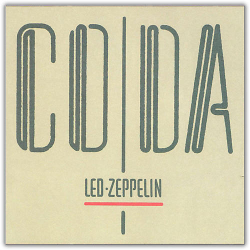 WEA Led Zeppelin - Coda Vinyl LP thumbnail