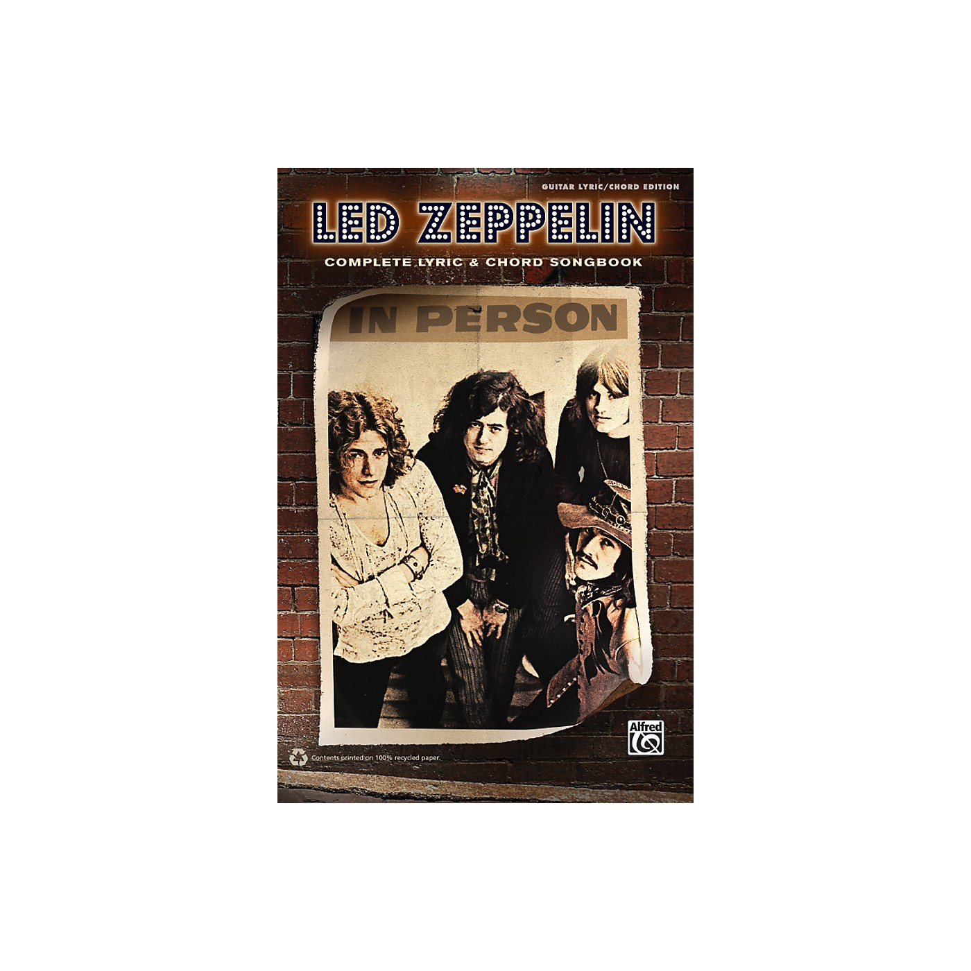 Alfred Led Zeppelin - Complete Lyric & Chord Songbook thumbnail