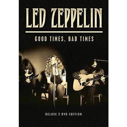 Hal Leonard Led Zeppelin - Good Times, Bad Times 2 DVD Set thumbnail