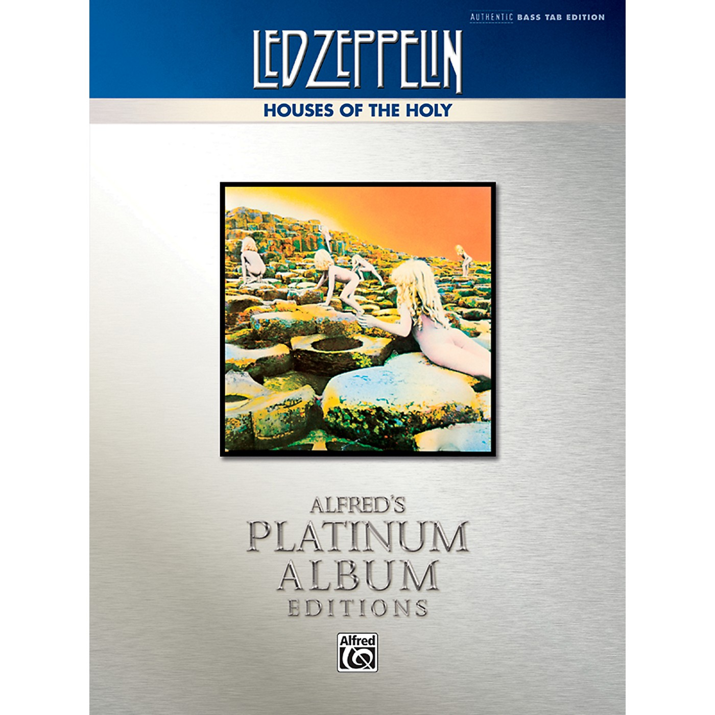 Alfred Led Zeppelin - Houses of the Holy Platinum Bass Guitar Book thumbnail