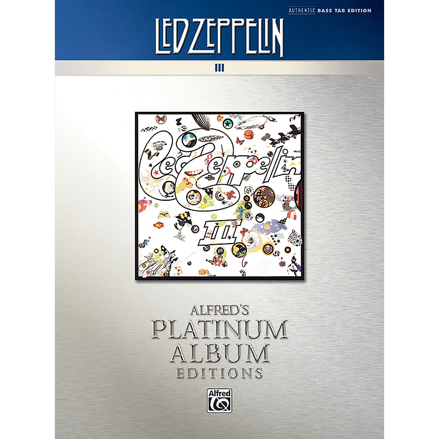 Alfred Led Zeppelin - III Platinum Bass Guitar Book thumbnail