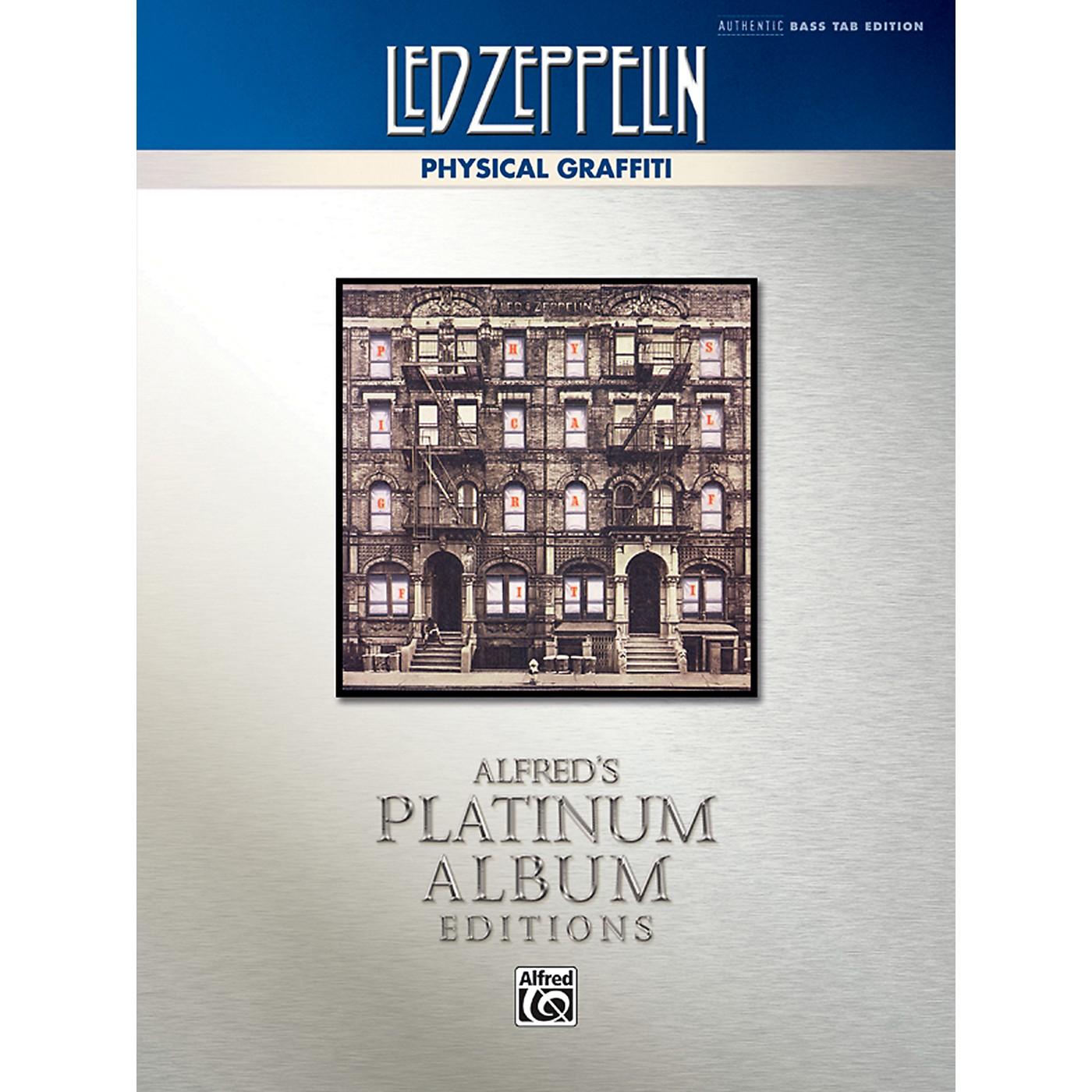 Alfred Led Zeppelin - Physical Graffiti Platinum Bass Guitar Book thumbnail