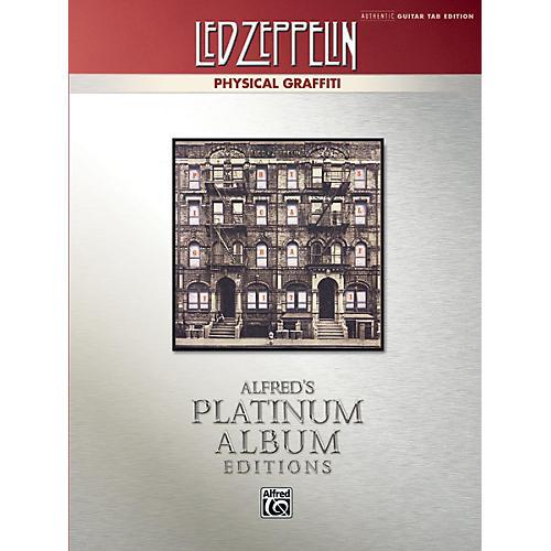 Alfred Led Zeppelin - Physical Graffiti Platinum Guitar TAB Book thumbnail