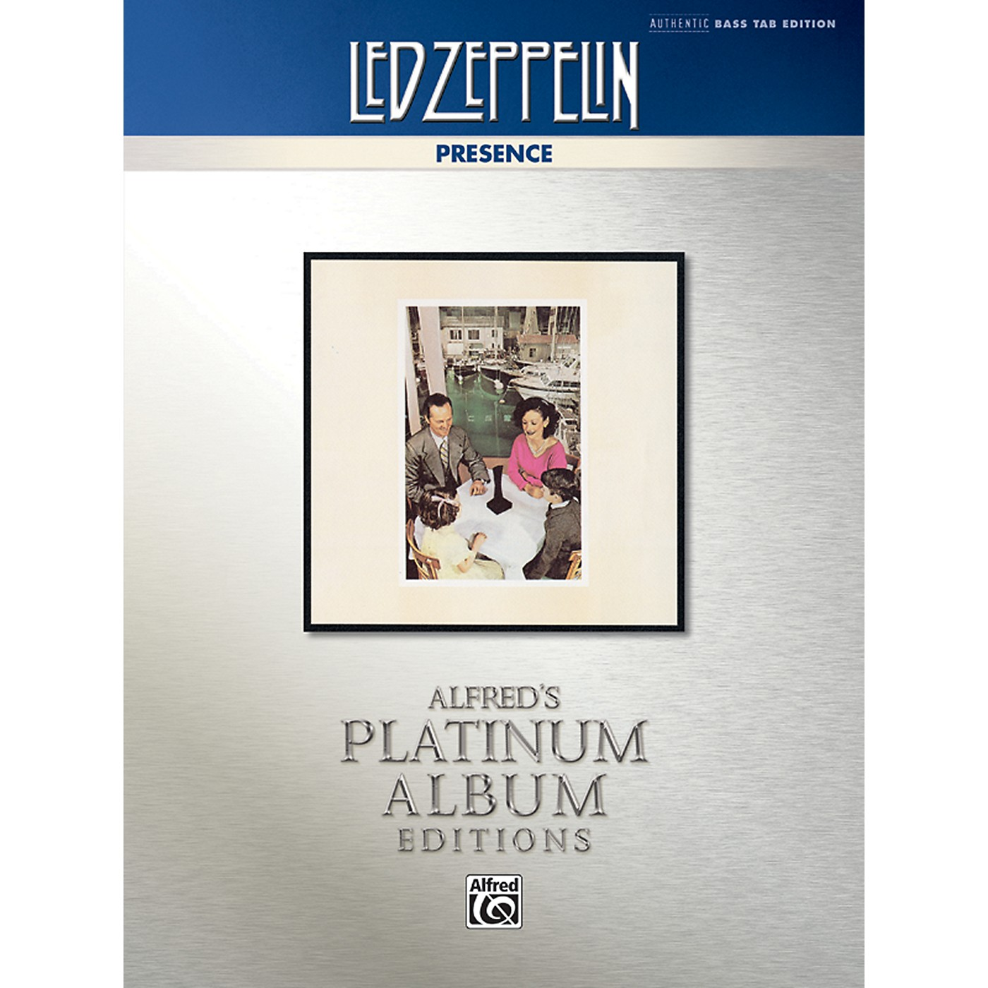 Alfred Led Zeppelin - Presence Platinum Bass Guitar TAB Book thumbnail