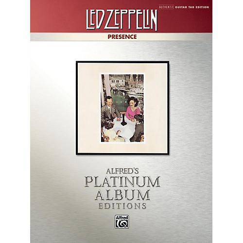 Alfred Led Zeppelin - Presence Platinum Guitar TAB Book thumbnail