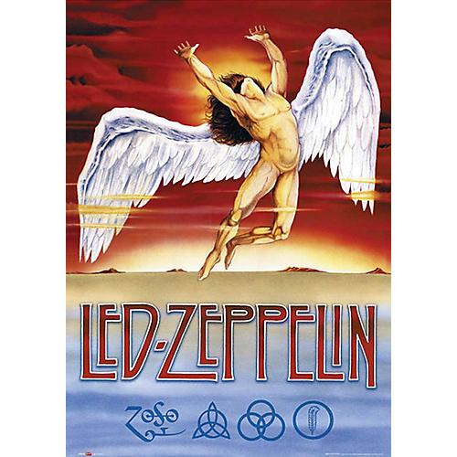Hal Leonard Led Zeppelin - Swan Song - Wall Poster thumbnail