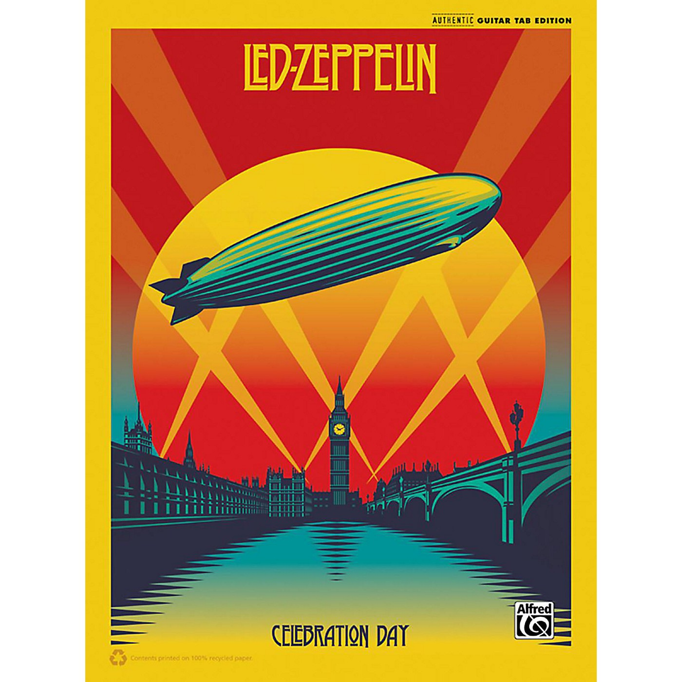 Alfred Led Zeppelin Celebration Day Guitar Songbook with TAB thumbnail