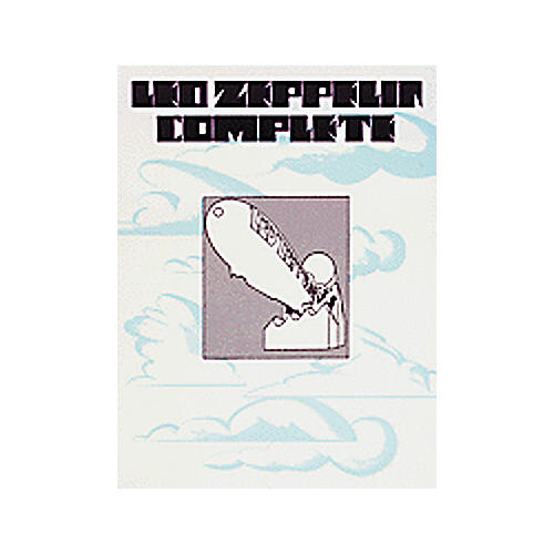 Alfred Led Zeppelin Complete Piano, Vocal, Guitar Songbook thumbnail