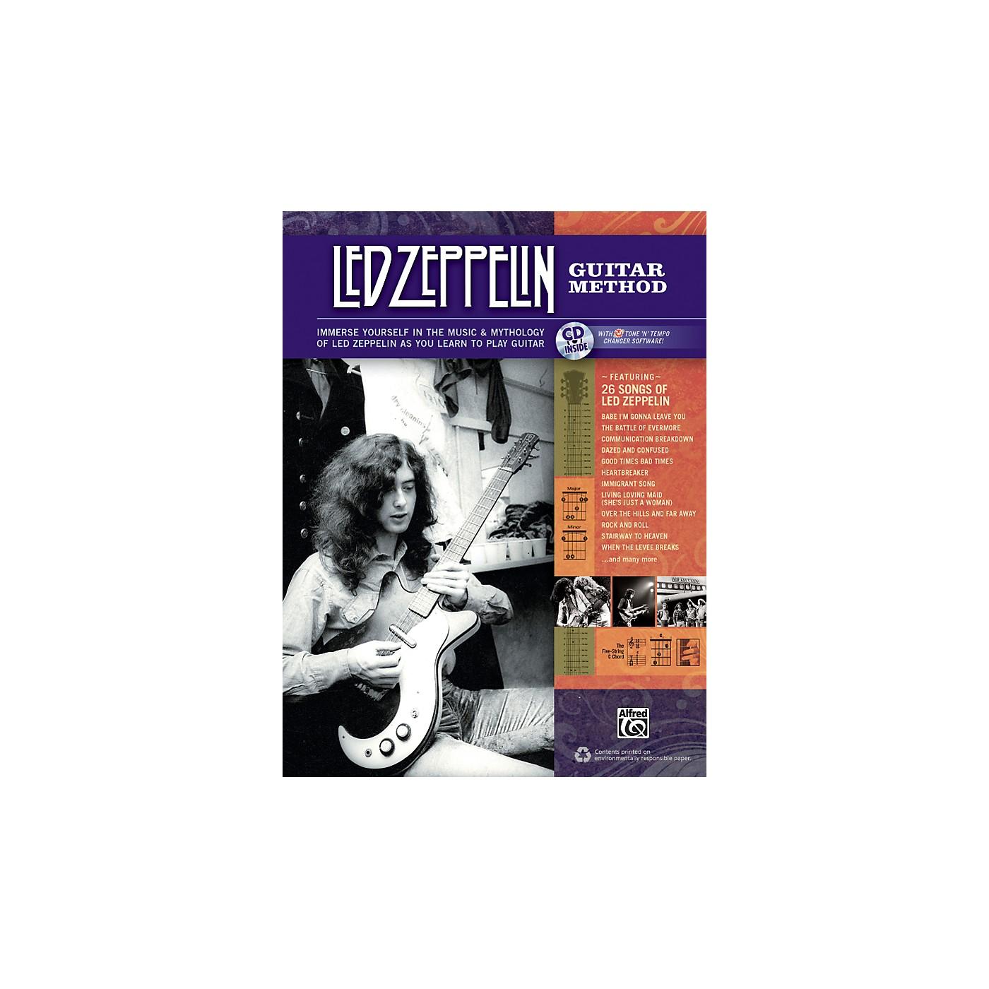 Alfred Led Zeppelin Guitar Method Book/CD thumbnail