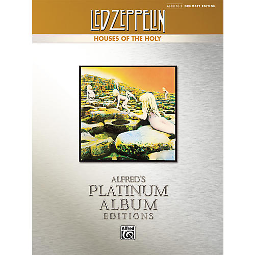 Alfred Led Zeppelin Houses of the Holy Authentic Drumset Edition (Book) thumbnail