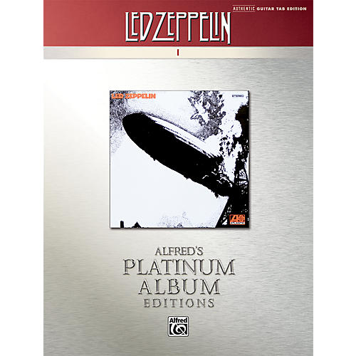 Alfred Led Zeppelin I Guitar Tab Platinum Edition Book thumbnail