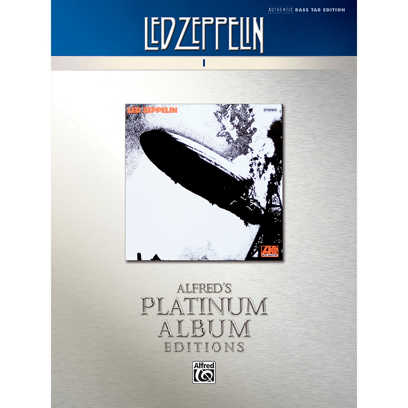 Alfred Led Zeppelin I Platinum Bass Guitar Book thumbnail