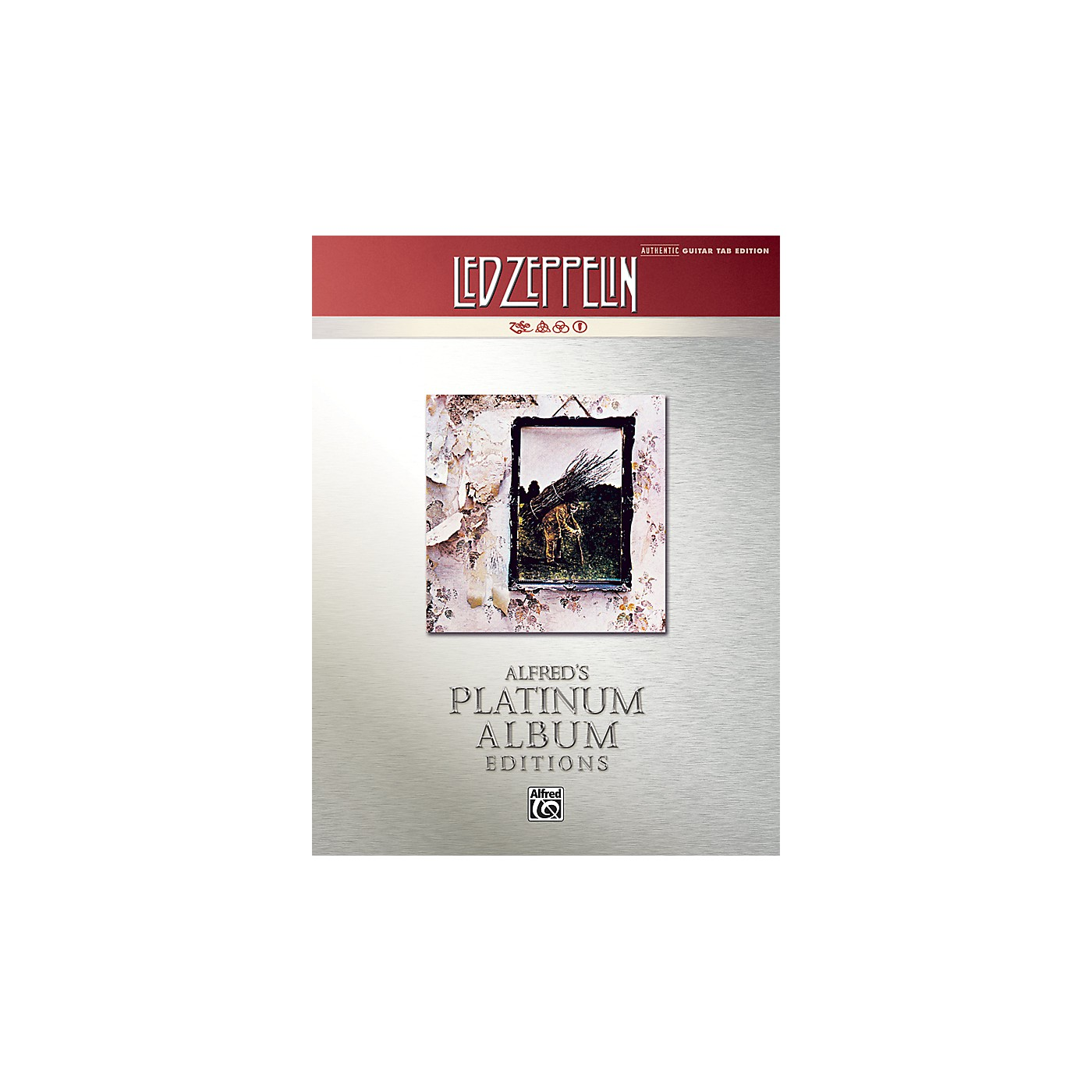 Alfred Led Zeppelin IV Guitar Tab Platinum Edition Book thumbnail