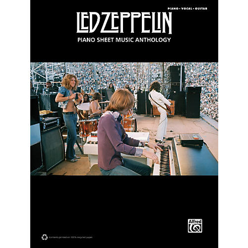 Alfred Led Zeppelin Piano Sheet Music Anthology PVG Book thumbnail