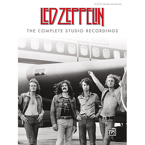 Alfred Led Zeppelin: The Complete Studio Recordings Hardcover Authentic Guitar TAB Edition thumbnail