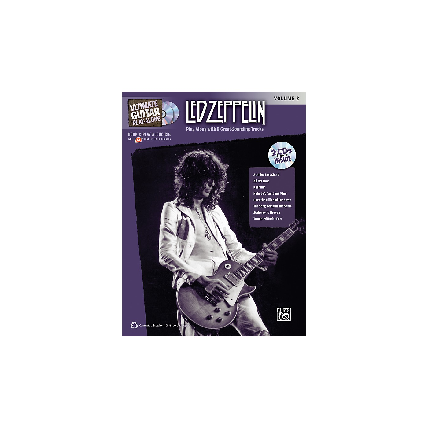 Alfred Led Zeppelin Ultimate Play Along Guitar Volume 2 with 2 CD's thumbnail