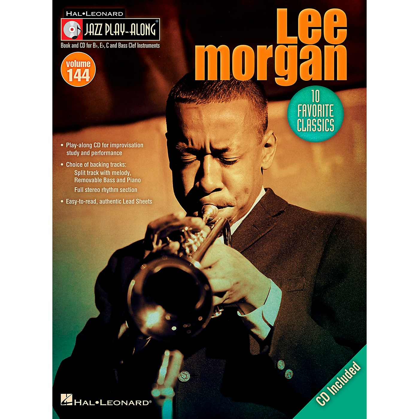 Hal Leonard Lee Morgan - Jazz Play-Along Volume 144 Book/CD thumbnail