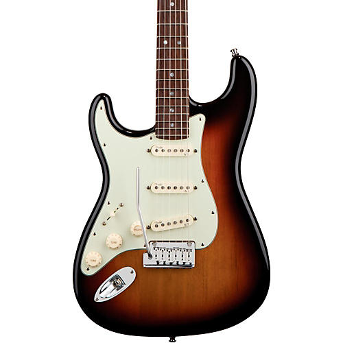 Fender Left-Handed American Deluxe Stratocaster Electric Guitar-thumbnail