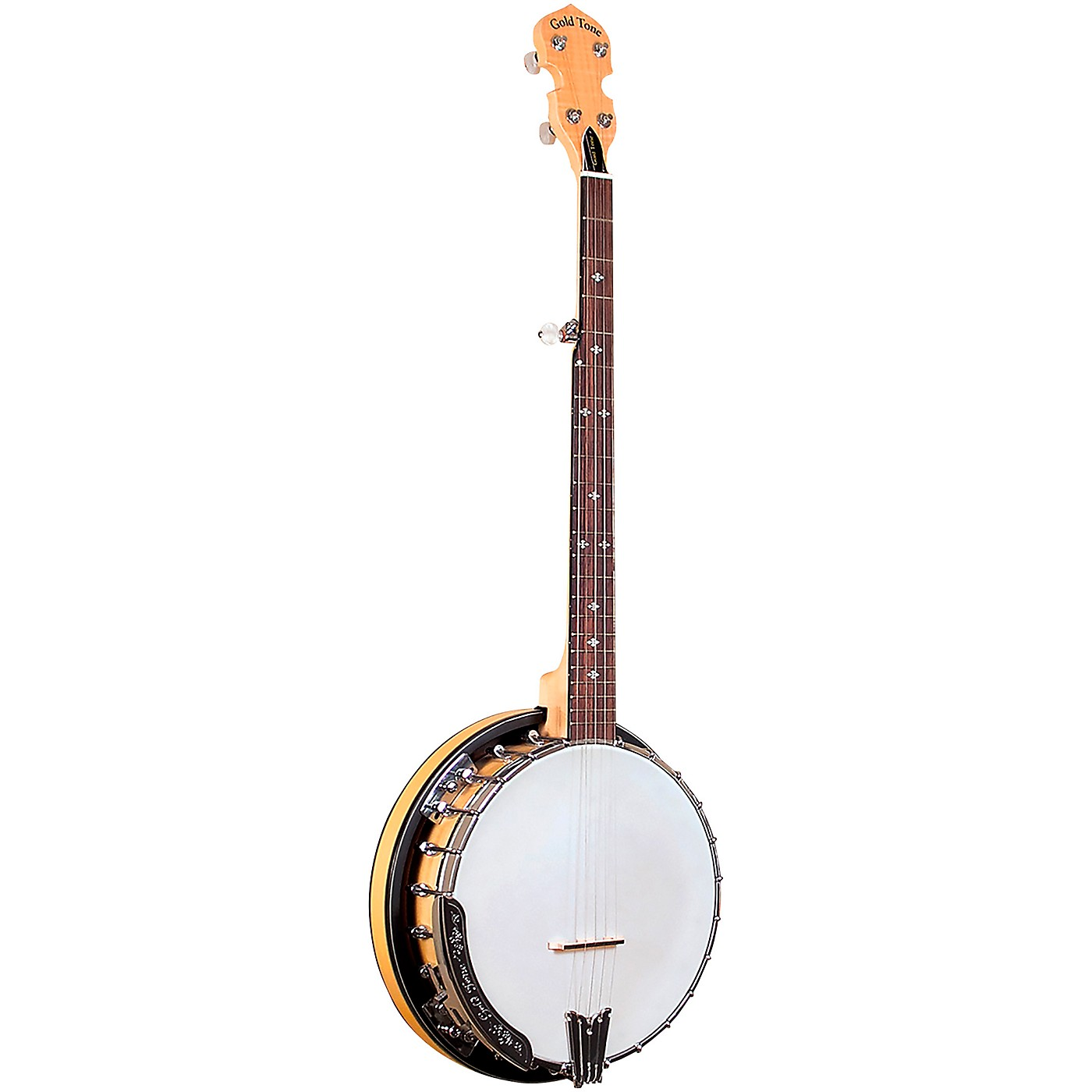 Gold Tone Left-Handed Maple Classic Banjo with Steel Tone Ring thumbnail