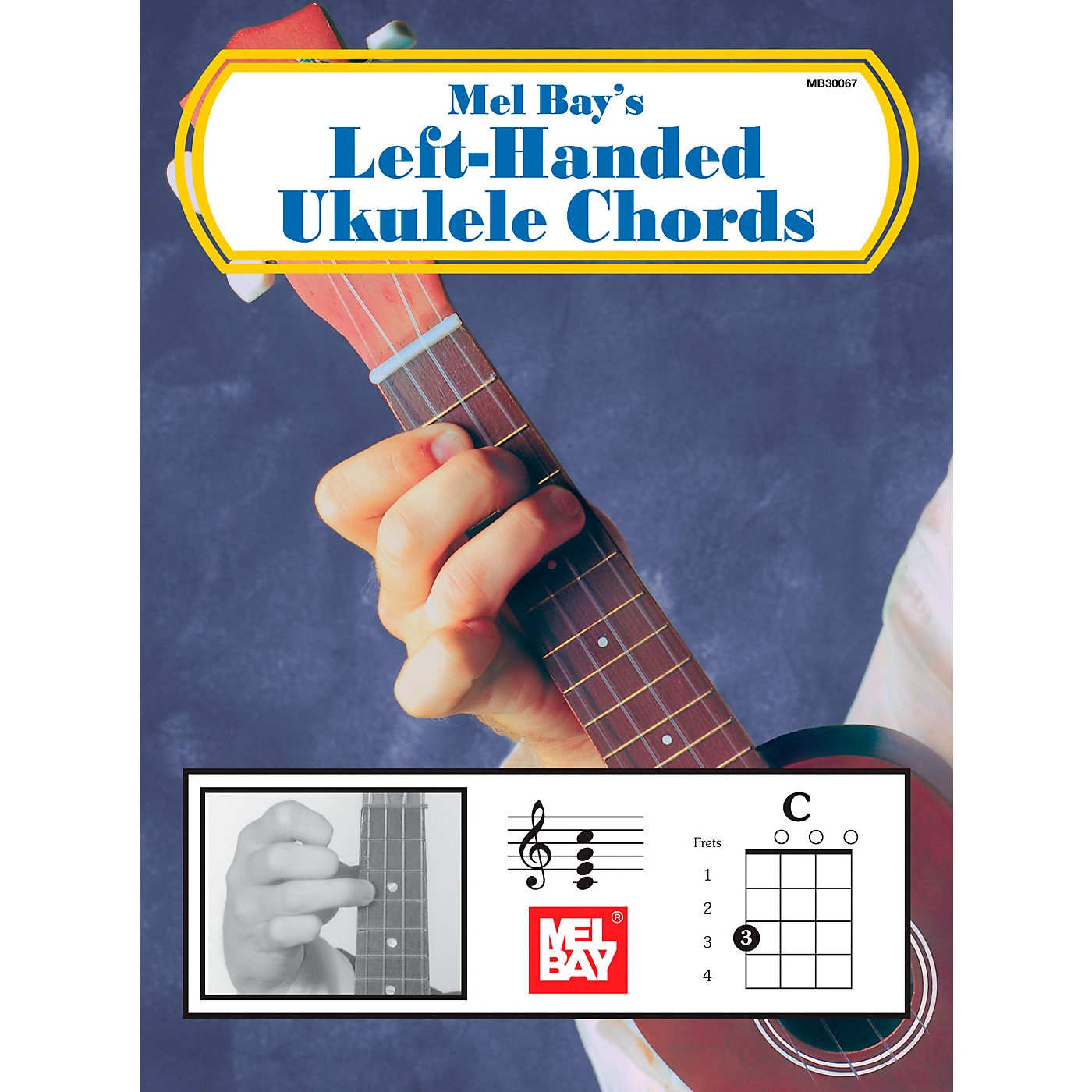 Mel Bay Left-Handed Ukulele Chords thumbnail