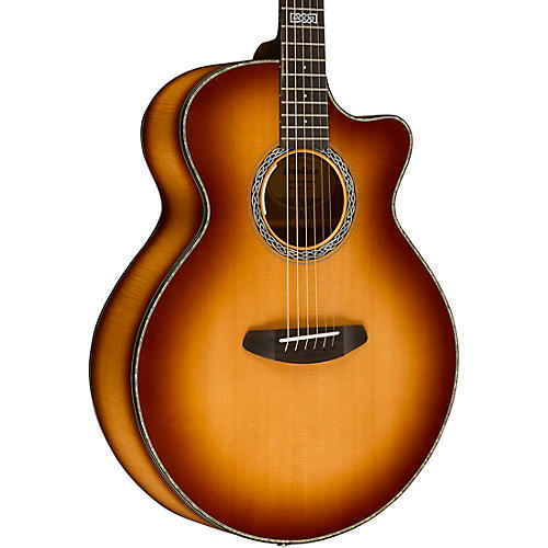 Breedlove Legacy Auditorium Black Shadow CE Sitka Spruce - Myrtlewood Acoustic-Electric Guitar thumbnail