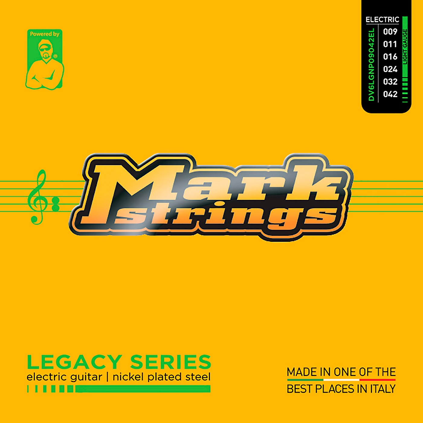 Markbass Legacy Series Nickel Plated Steel Electric Strings (9-42) thumbnail