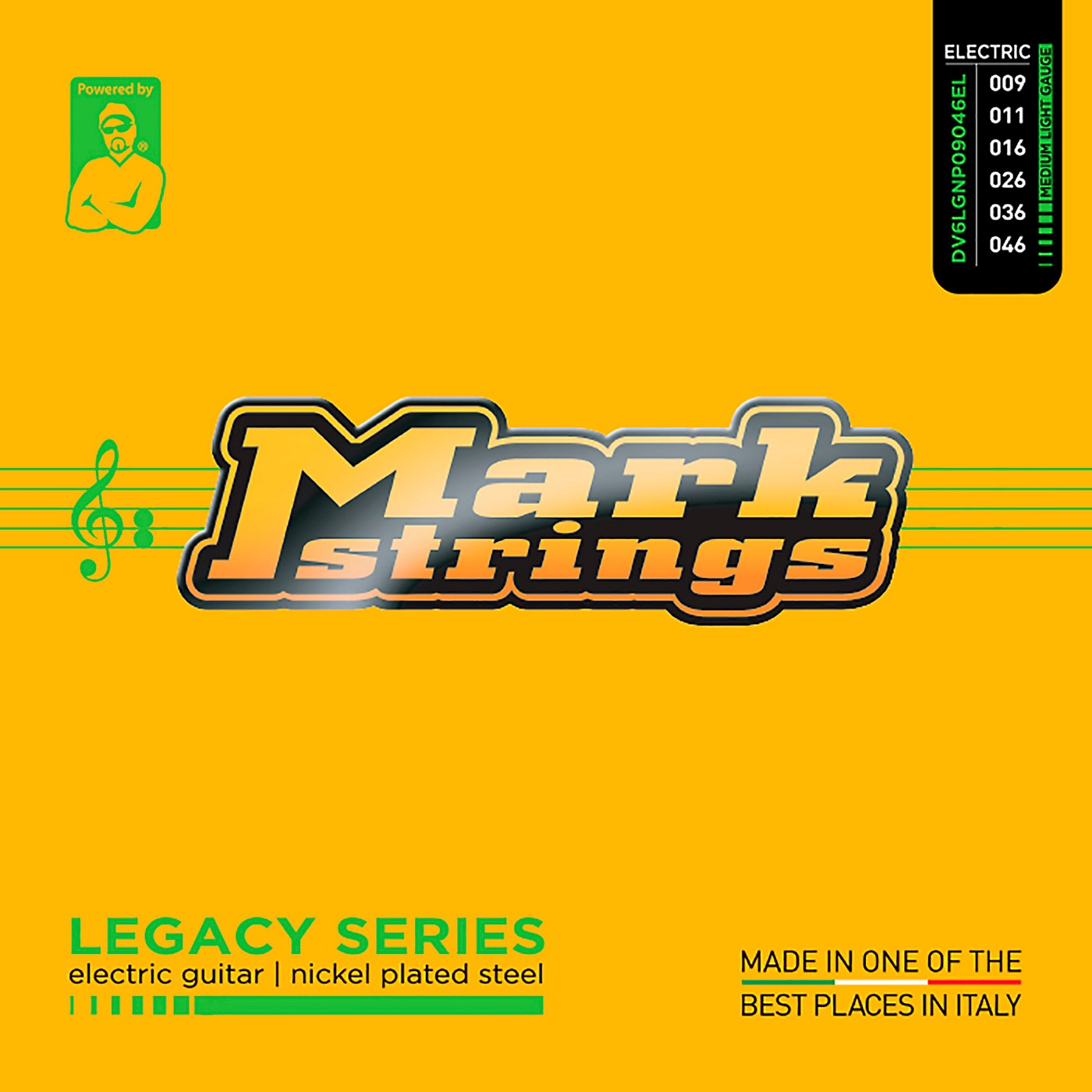 Markbass Legacy Series Nickel Plated Steel Electric Strings (9-46) thumbnail