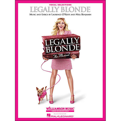 Hal Leonard Legally Blonde Vocal Selections (Vocal with Piano Accompaniment) thumbnail