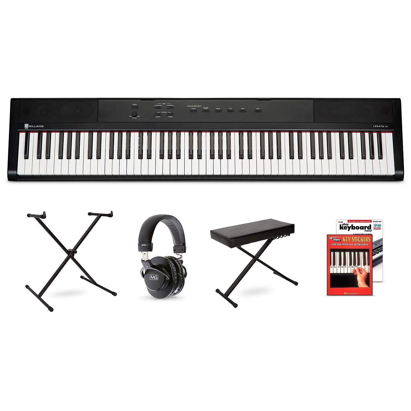 Williams Legato III Keyboard Essentials Package thumbnail