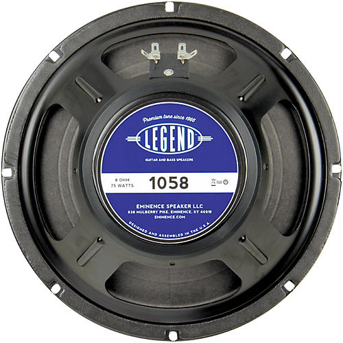 Eminence Legend 1058 10 In Guitar Speaker thumbnail