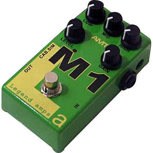AMT Electronics Legend Amps Series M1 Distortion Guitar Effects Pedal-thumbnail