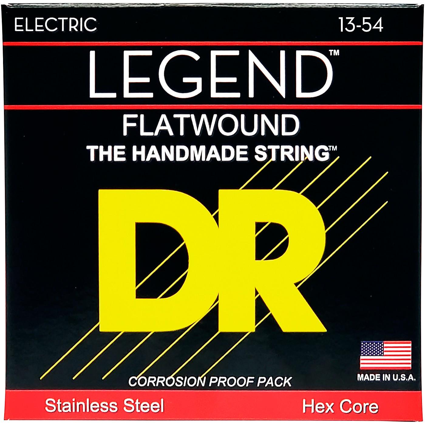 DR Strings Legend Medium Flatwound Electric Guitar Strings thumbnail