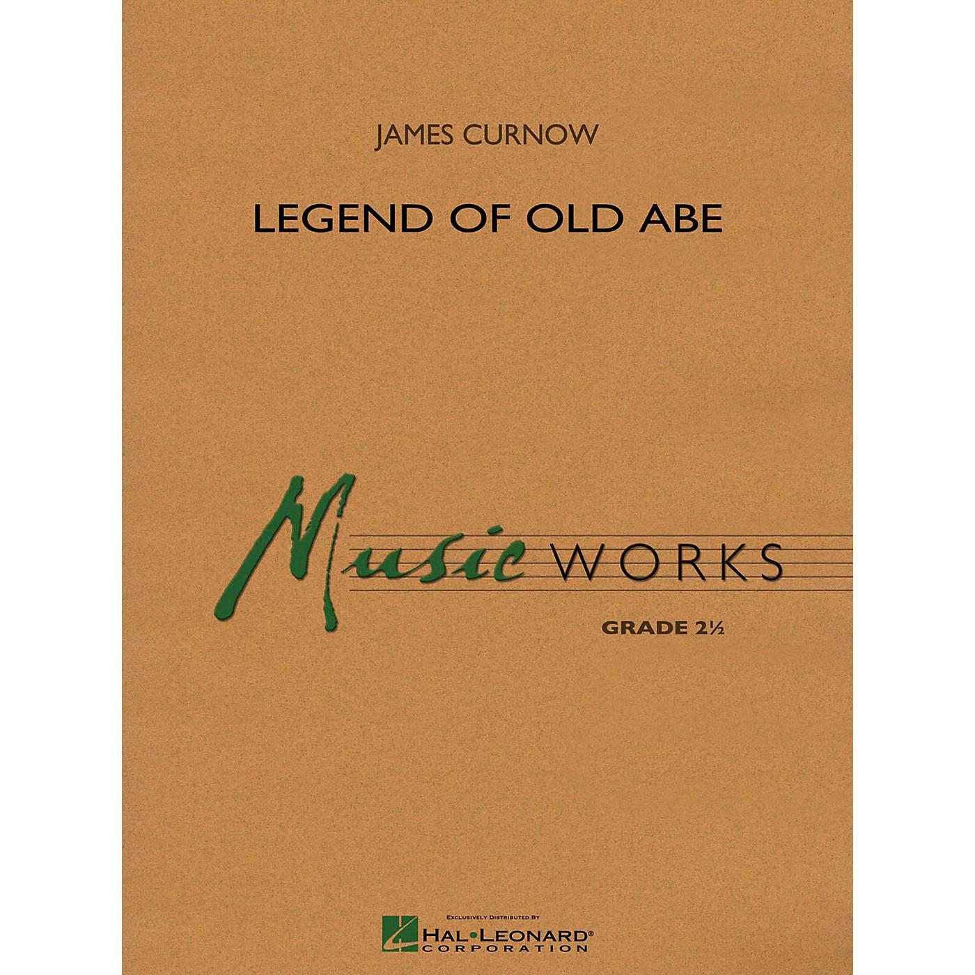 Hal Leonard Legend Of Old Abe Concert Band Level 2 thumbnail