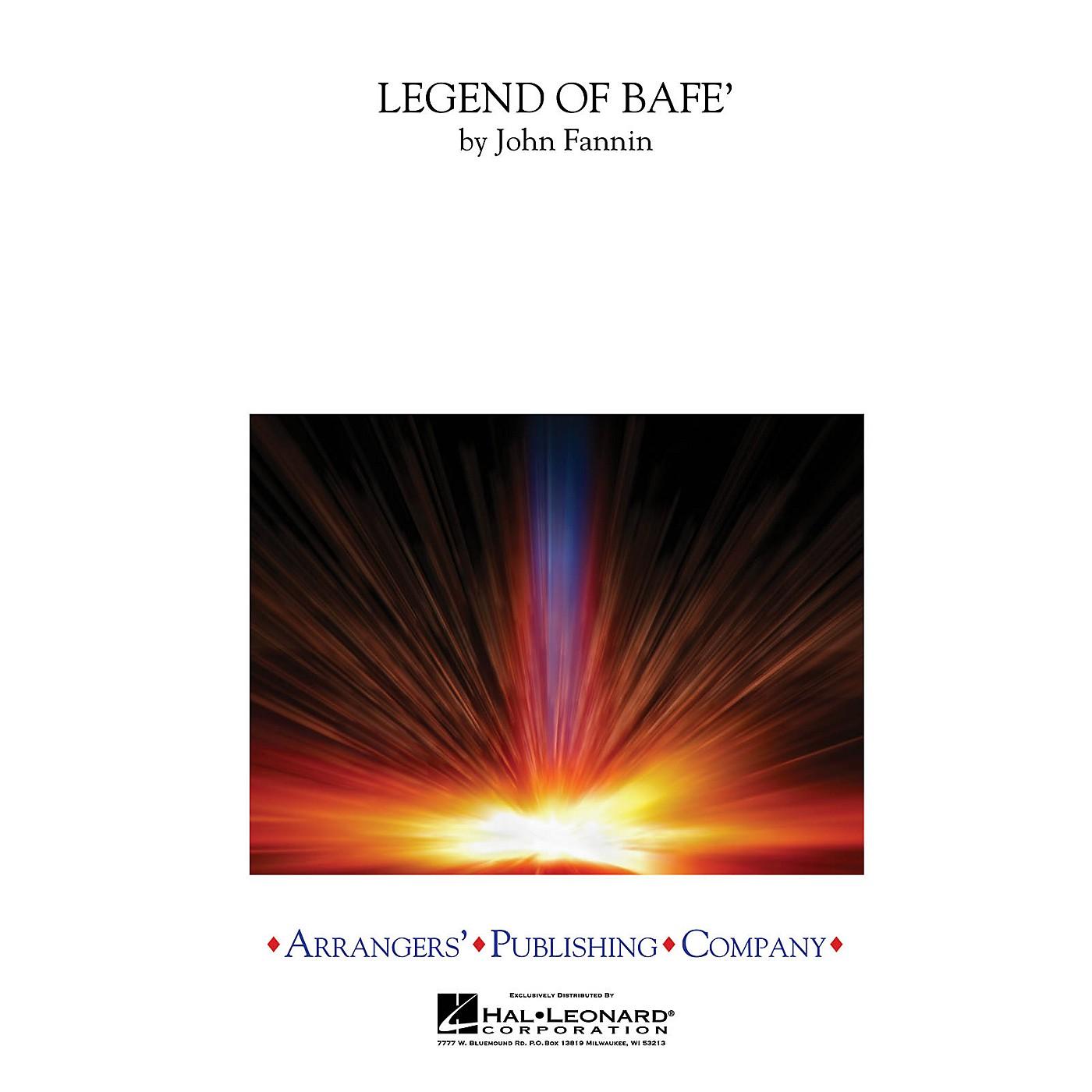 Arrangers Legend of BAFE Concert Band Arranged by John Fannin thumbnail