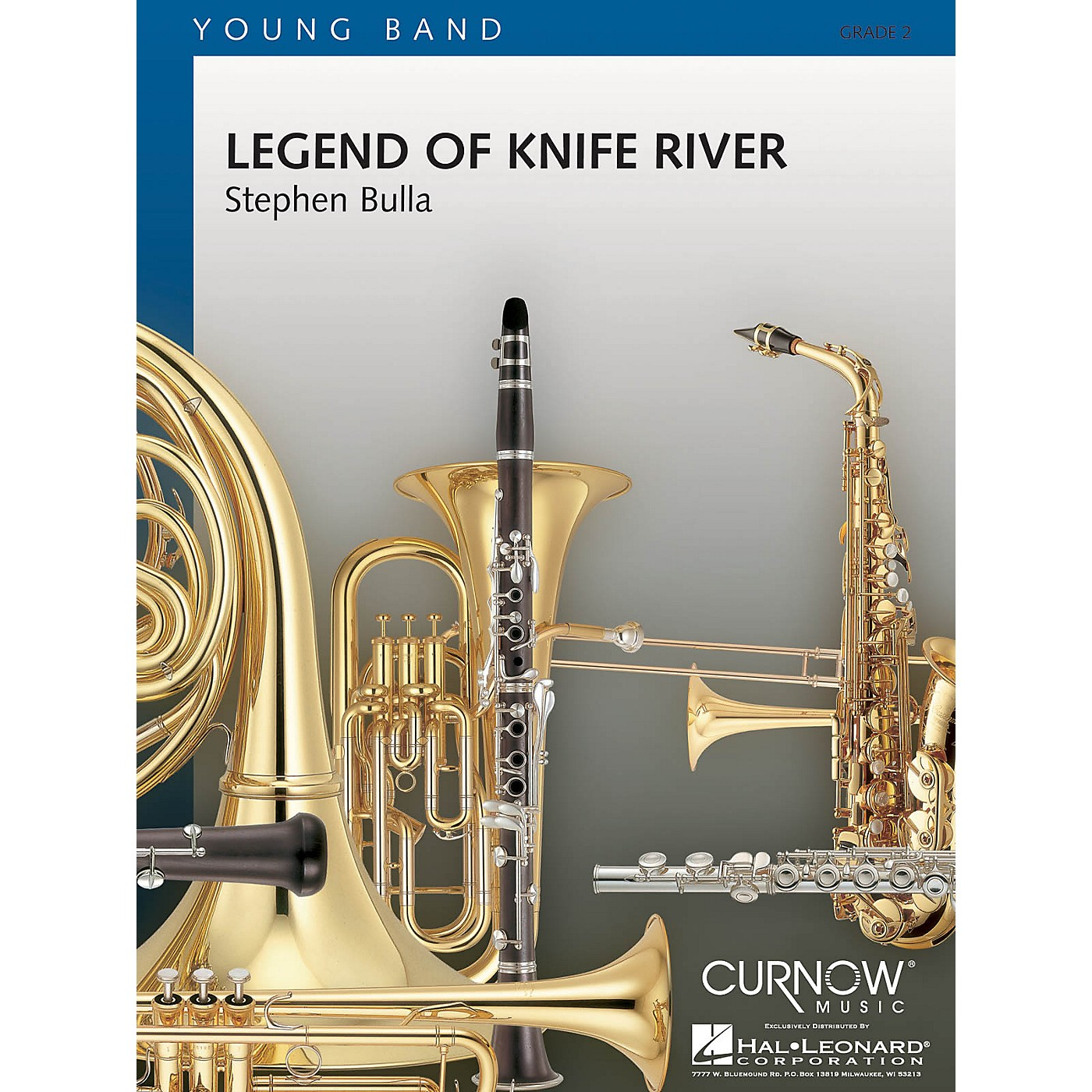 Curnow Music Legend of Knife River (Grade 1.5 - Score and Parts) Concert Band Level 1.5 Composed by Stephen Bulla thumbnail