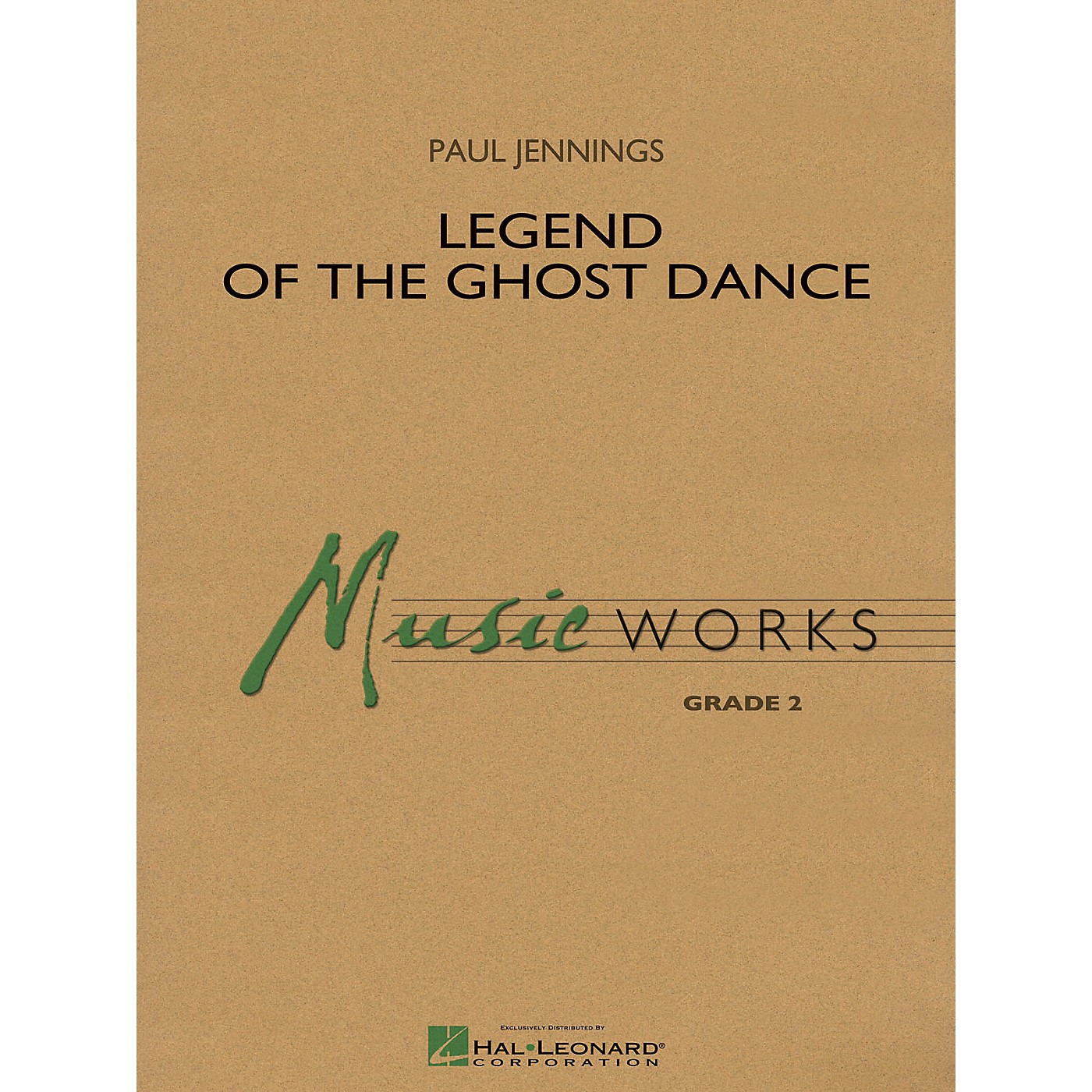 Hal Leonard Legend of the Ghost Dance Concert Band Level 2 Composed by Paul Jennings thumbnail