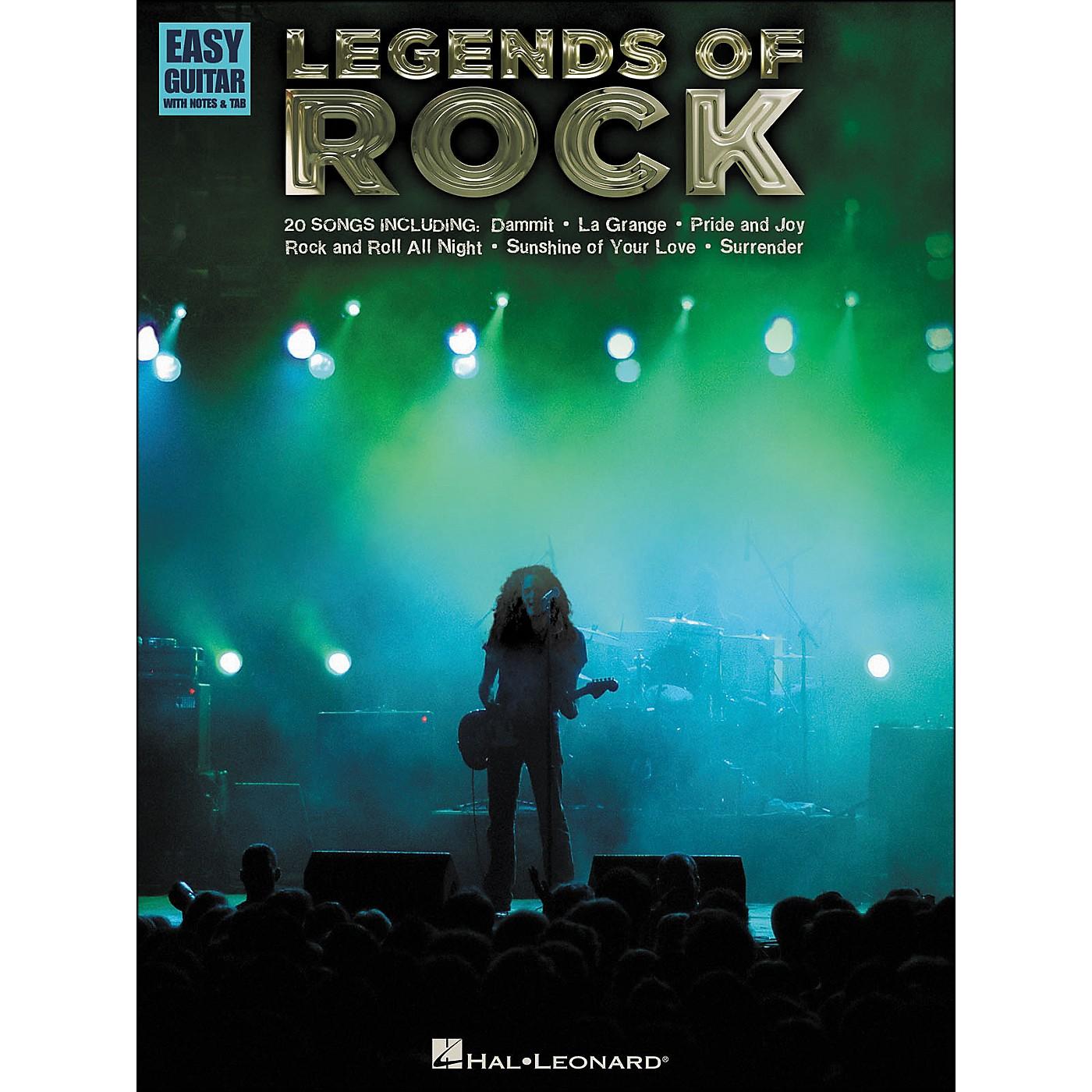 Hal Leonard Legends Of Rock - Easy Guitar Tab thumbnail