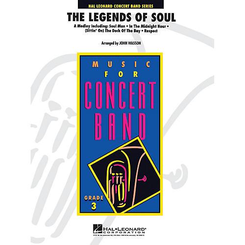 Hal Leonard Legends Of Soul, The Full Score Concert Band thumbnail
