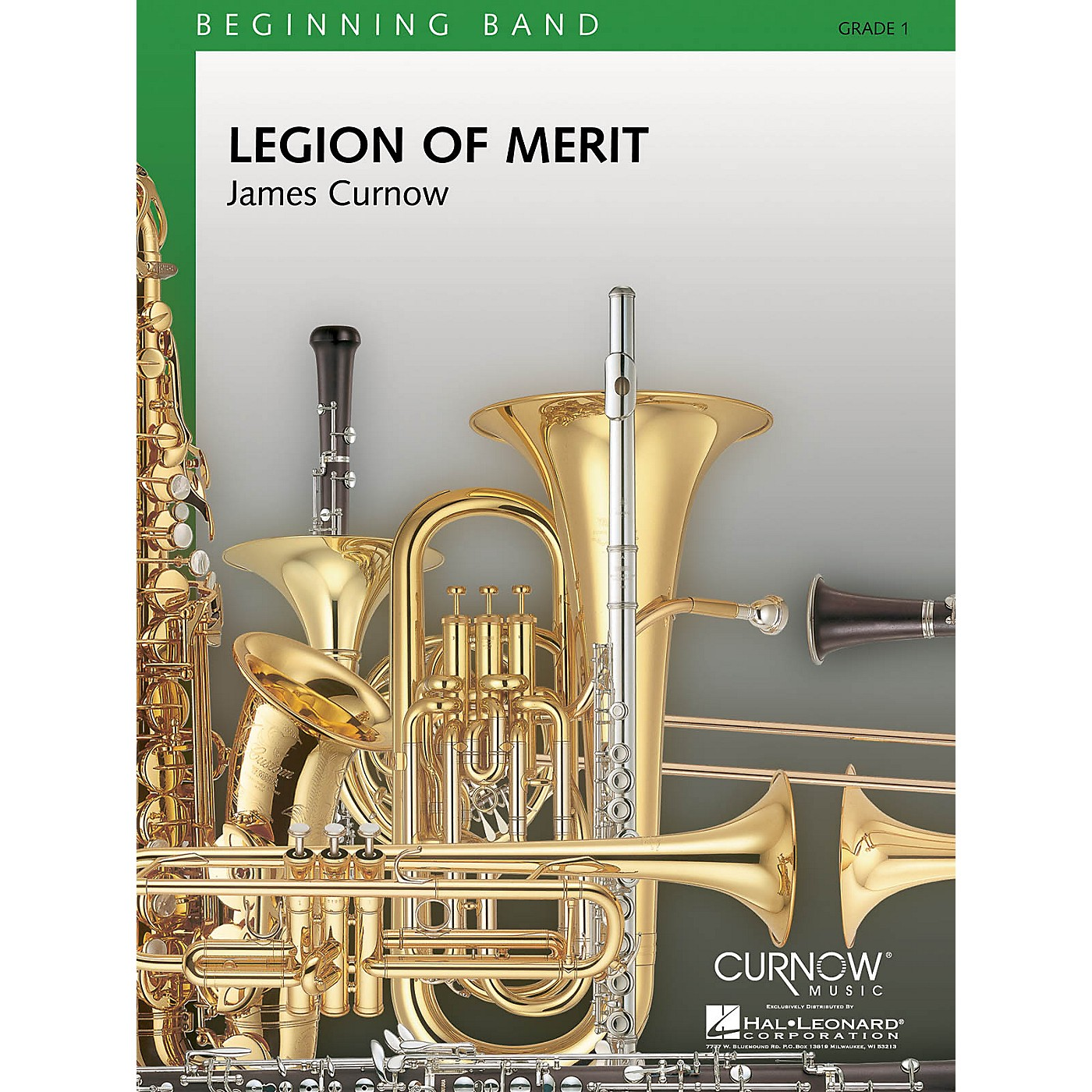 Curnow Music Legion of Merit (Grade 1 - Score Only) Concert Band Level 1 Arranged by James Curnow thumbnail