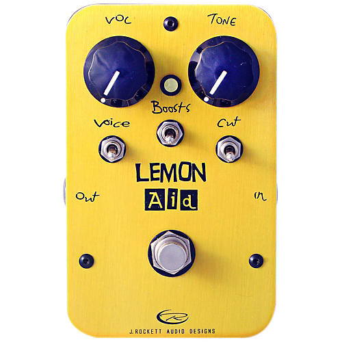 Rockett Pedals Lemon Aid Multi Boost Guitar Effects Pedal thumbnail