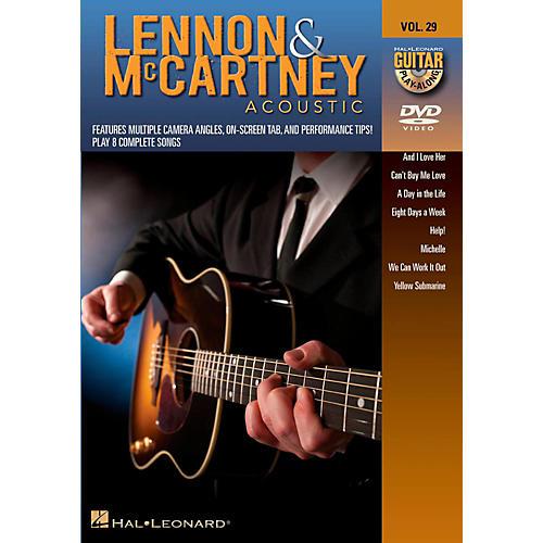 Hal Leonard Lennon & McCartney Acoustic - Guitar Play-Along DVD Volume 29 thumbnail