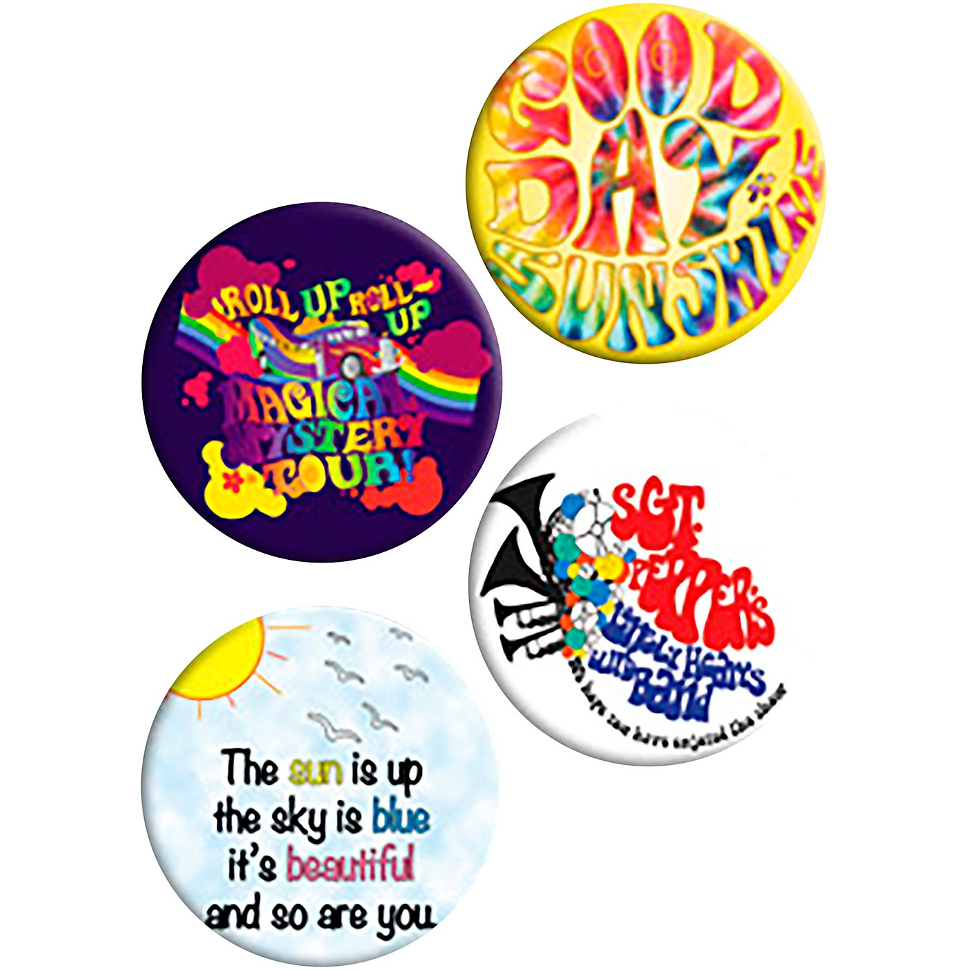 C&D Visionary Lennon & McCartney Button Set thumbnail