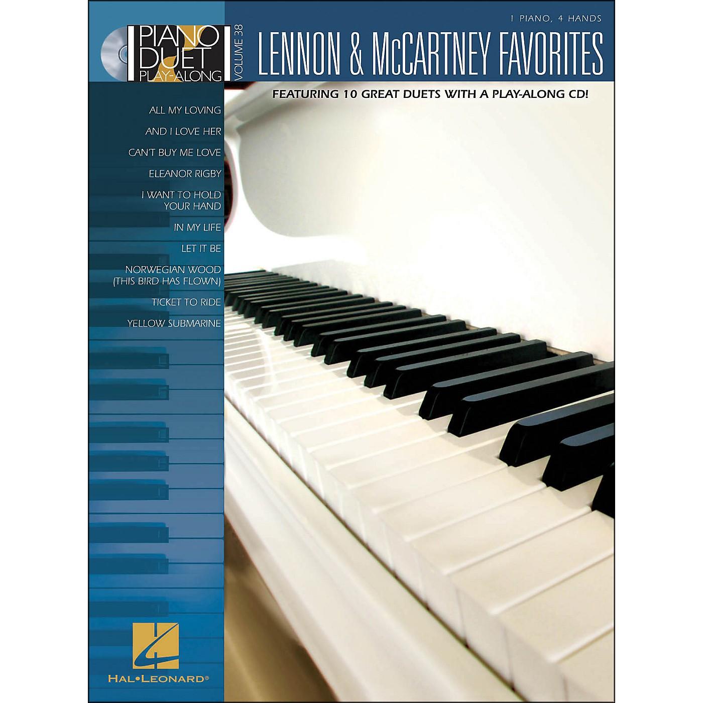 Hal Leonard Lennon & McCartney Favorites - Piano Duet Play-Along Volume 38 (Book/CD) thumbnail